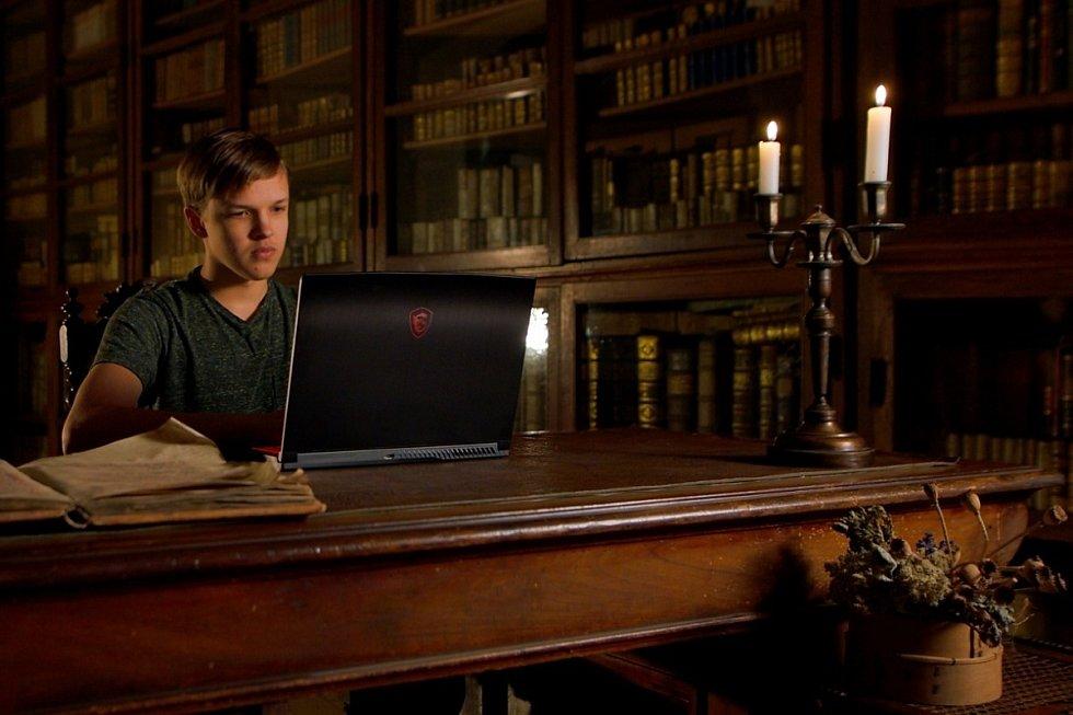 Štěpán Lukeš, student Gymnázia da Vinci v Dolních Břežanech.