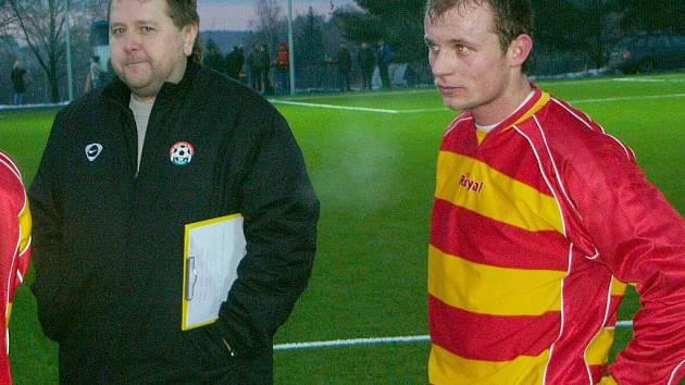 Vedoucí mužstva Marila Votice Luboš Javorský ani hráč Walter se Slávie nedočkali.