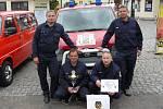 Jednotka SDH Votice soutěží o celorepublikový titul Dobrovolní hasiči roku 2012.