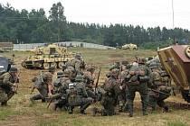 Devátý tankový den se nesl v duchu druhé světové války.