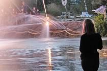 Ratměřická hasičská fontána 2014.