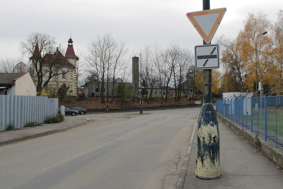 Křižovatka u vily Katušky v Benešově dozná změn.