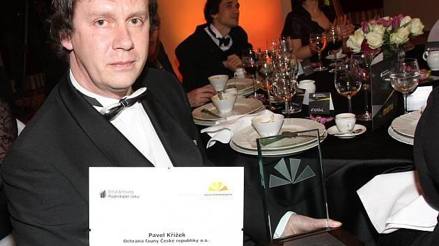 Vyhlášení výsledků soutěže Podnikatel roku ČR 2010.
