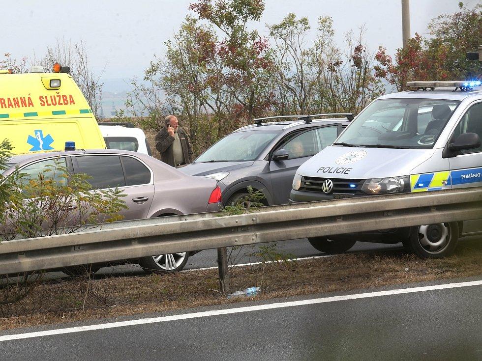 Nehoda na dálnici. Ilustrační foto.