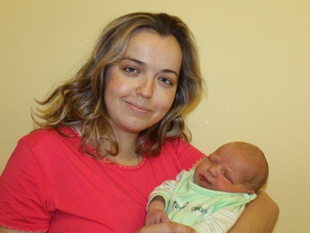 Vítězným miminkem prosince se stal Jakub Petrů z Vlašimi.
