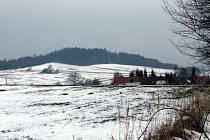 Záměr vybudování větrné farmy u Kosovy Hory - ke třem stožárům povede obslužná komunikace z dolních Lovčic.
