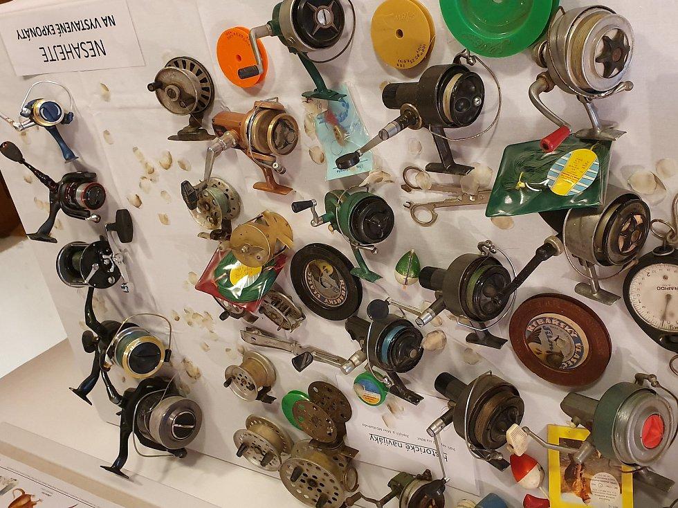 Výstava sportovního rybářství v muzeu Štěpánovska.