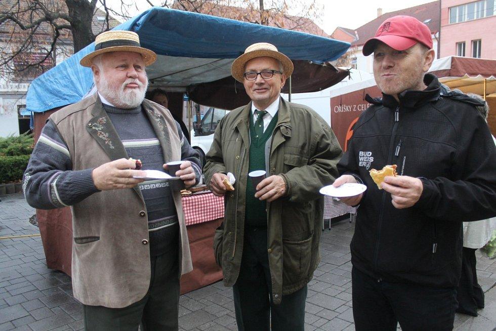 Farmářský trh v Benešově se konal v sobotu 7. listopadu.