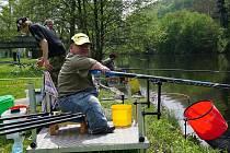 Handicapovaní rybáři soutěžili na mistrovství