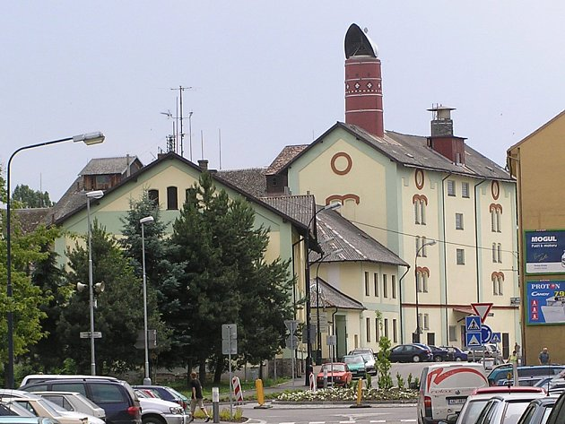 Benešovský pivovar.