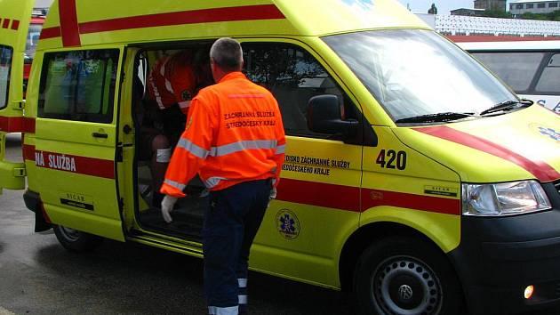 Sanita záchranné služby.