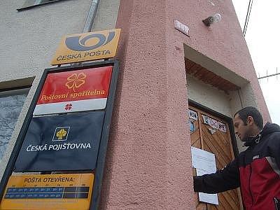 Hrozí zrušení některých pošt i na Benešovsku?