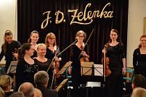 Slavnostní koncert v Louňovicích pod Blaníkem.