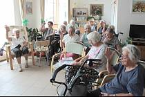 Domov seniorů v Benešově.