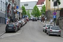 Tyršova ulice u Hotelu Pošta.