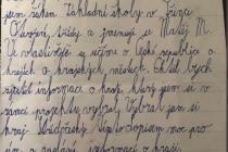 Plnit školní úkol pomohla čtvrťákovi z moravského Třince středočeská hejtmanka.