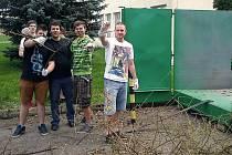 Studenti Integrováné střední školy technické Benešov se v pondělí 22. dubna zapojili do akce Den Země.