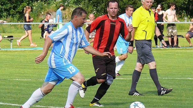 Na závěr sezony si béčko Nespek s chutí zastřílelo a nasypalo osm gólů do sítě sestupujících Soběhrd.