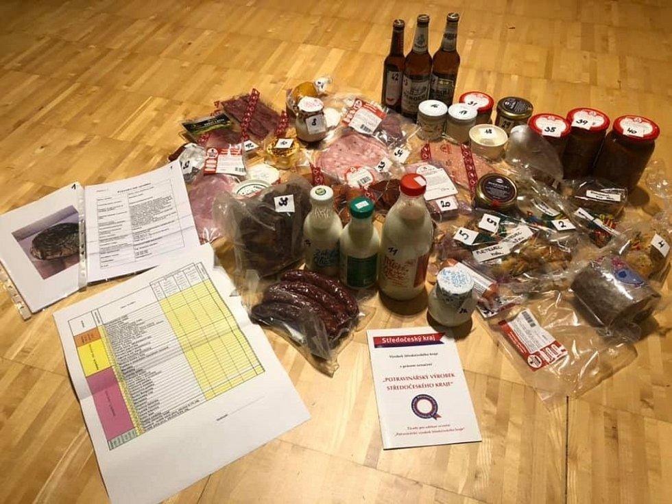 Z hodnocení regionálních pochoutek přihlášených do soutěže Potravinářský výrobek Středočeského kraje.