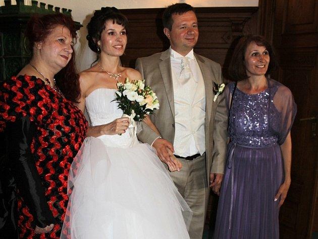 Na Konopišti si řekli ano Světlana Igorevna Kulešová a Michail Alexandrovič Kamyšev.