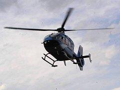 Ilustrační foto: Vrtulník rychlé záchranné služby