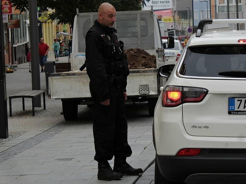 Tyršova ulice v Benešově v pondělí 27. září 2021.