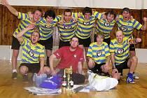 FBC Pacovští Honzíci se stali vítězi florbalového turnaje ve Vlašimi Haluz cup 2011.