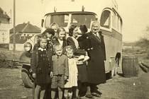 Reprofoto k oslavám sta let autobusové dopravy