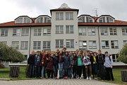 O studenty ze zahraničí se starali žáci deváté třídy z Čechtic.