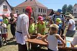 Stánky, lidová řemesla i spousty zábavy pro děti nabídl středověký jarmark v Českém Šternberku.