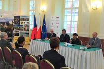 Na polském velvyslanectví se konalo Dolnoslezsko-středočeské ekonomické fórum.