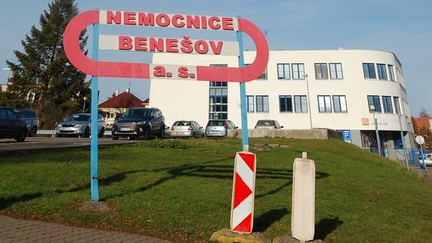 Benešovská nemocnice.
