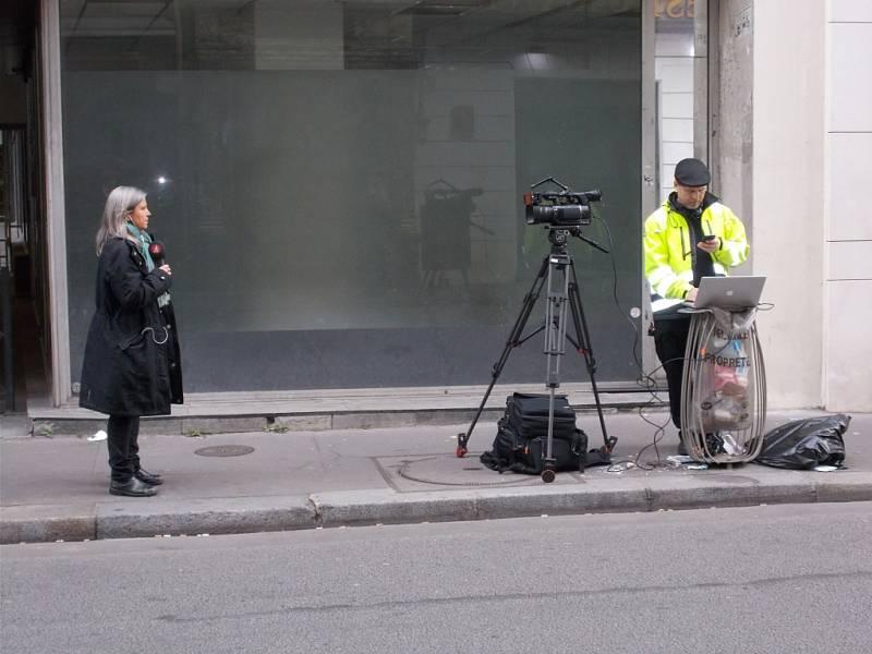 Momentka z pařížské ulice.