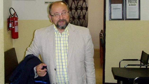 Jeden z obhájců obžalovaného Josef Podhorský.