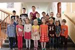 ZŠ a MŠ Postupice, třídní učitelka Eva Martínková
