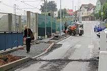 Budování bezpečnějšího přecházení u benešovského podchodu z Mendelovy do Hodějovského ulice.