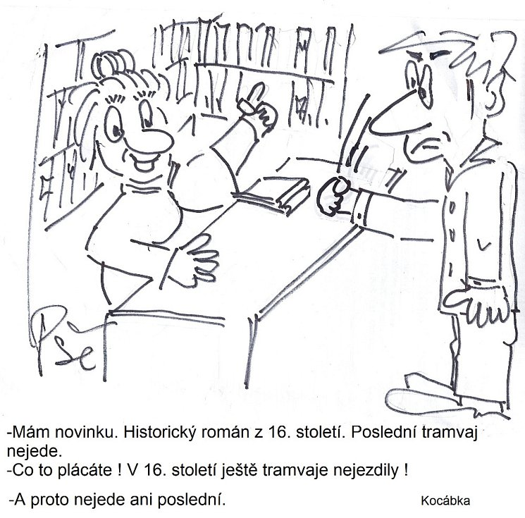Humor Jiřího Cinkeise a jeho Kocábky.