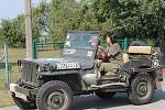 Deváté setkání příznivců US Army v Drahňovicích.