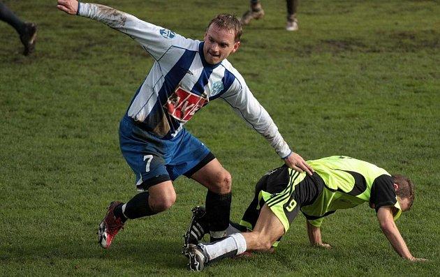 Z utkání Kouřim - Čáslav B (0:0).