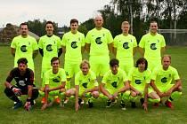Tým. Čerčany mají za sebou první z trojice přípravných utkání z Kosovou Horou.