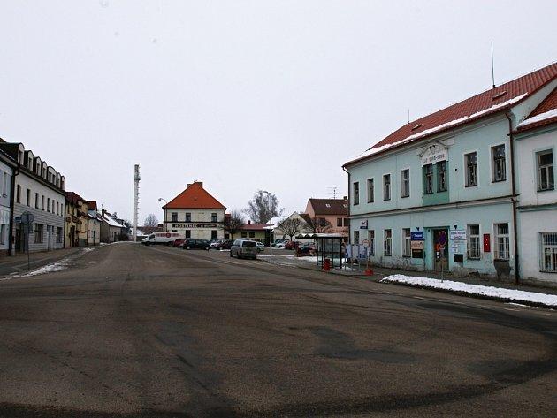 Centrum Bystřice.