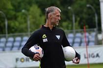 Trenér Vlašimi Martin Hyský.
