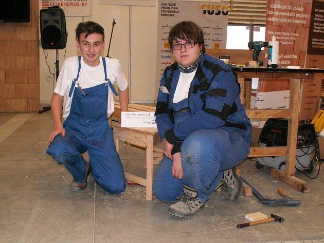 Michal s Jakubem se sice na stupně vítězů nedostali, v konkurenci ostatních škol se ale rozhodně neztratili.
