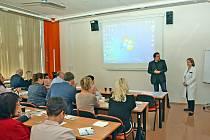 Setkání nemocničních ombudsmanů v pražské nemocnici v Krči.