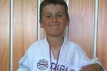 Adam Doležal z Benešova se těší ze svojí první judistické medaile, která byla dokonce z toho nejcennějšího kovu.