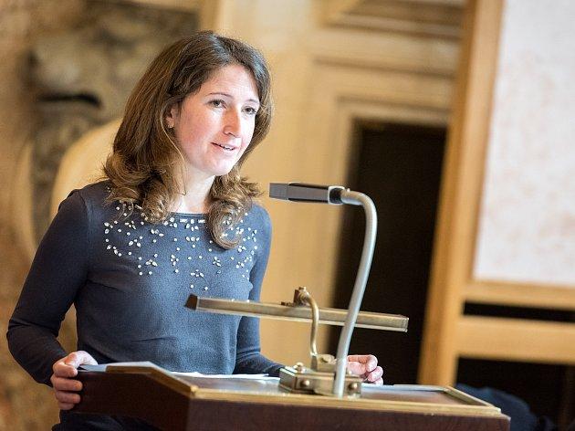 V senátu připomínali výročí vystěhování Neveklovska. Foto: Vojtěch Pavelčák