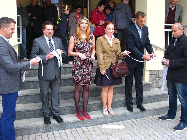 Slavnostní zahájení provozu Multifunkčního společenského centra ve Voticích.