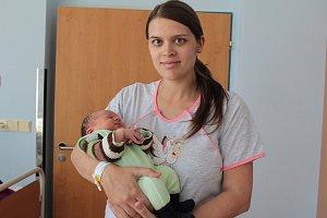 Manželé Lenka a Jan Typtovi z Chotětic se od 9. dubna radují z narození jejich prvorozeného synka Josefa. Ten se v benešovské porodnici narodil v 0.15, kdy měl 3 700 gramů a 53 centimetrů.