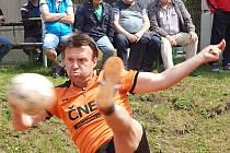 Letošní posila benešovského Šacungu Vilém Ungermann v Žatci nastoupil hned do pětice dílčích zápasů.