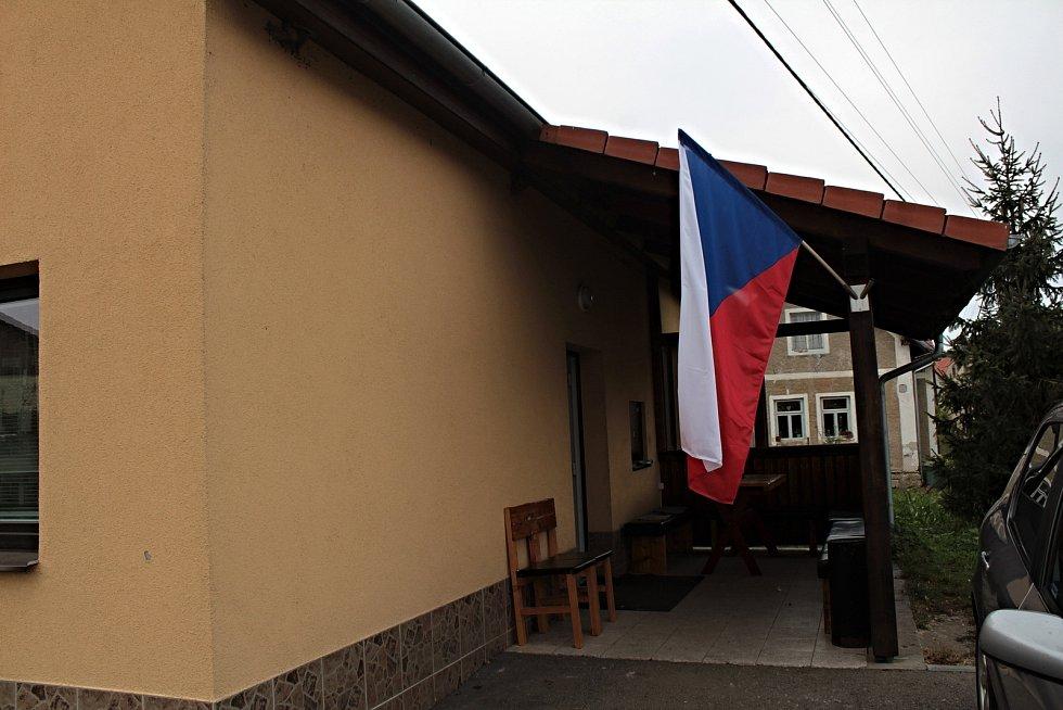 Volby do krajského zastupitelstva v v Krusičanech.